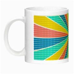 Rhythm Heaven Megamix Circle Star Rainbow Color Night Luminous Mugs by Alisyart