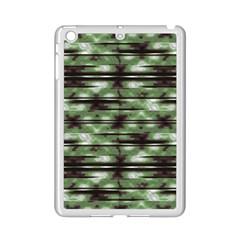 Stripes Camo Pattern Print Ipad Mini 2 Enamel Coated Cases by dflcprints