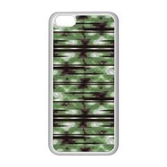 Stripes Camo Pattern Print Apple Iphone 5c Seamless Case (white) by dflcprints