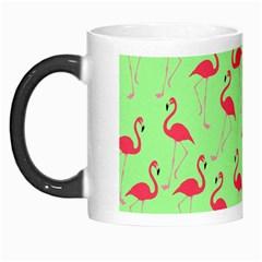 Flamingo Pattern Morph Mugs by Valentinaart