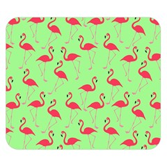 Flamingo Pattern Double Sided Flano Blanket (small)  by Valentinaart