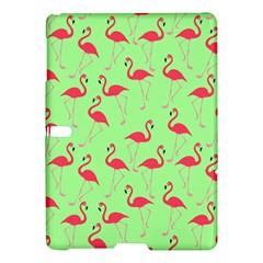 Flamingo Pattern Samsung Galaxy Tab S (10 5 ) Hardshell Case  by Valentinaart