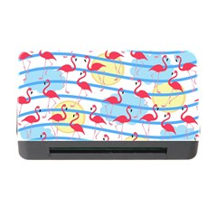 Flamingo Pattern Memory Card Reader With Cf by Valentinaart