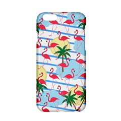 Flamingo Pattern Apple Iphone 6/6s Hardshell Case by Valentinaart