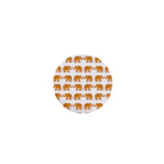 Indian Elephant  1  Mini Buttons by Valentinaart