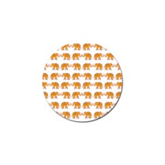 Indian Elephant  Golf Ball Marker (10 Pack) by Valentinaart