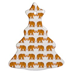 Indian Elephant  Ornament (christmas Tree)  by Valentinaart