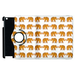 Indian Elephant  Apple Ipad 3/4 Flip 360 Case by Valentinaart