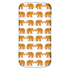 Indian Elephant  Samsung Galaxy S3 S Iii Classic Hardshell Back Case by Valentinaart