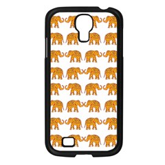 Indian Elephant  Samsung Galaxy S4 I9500/ I9505 Case (black) by Valentinaart