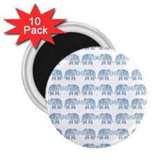 Indian Elephant  2 25  Magnets (10 Pack)  by Valentinaart
