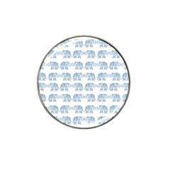 Indian Elephant  Hat Clip Ball Marker by Valentinaart