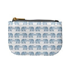 Indian Elephant  Mini Coin Purses by Valentinaart