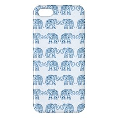Indian Elephant  Apple Iphone 5 Premium Hardshell Case by Valentinaart