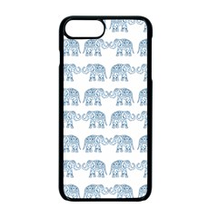 Indian Elephant  Apple Iphone 7 Plus Seamless Case (black) by Valentinaart