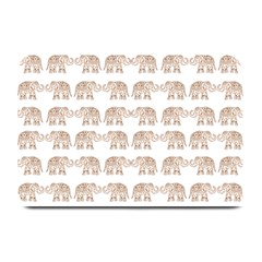 Indian Elephant Plate Mats by Valentinaart