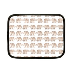 Indian Elephant Netbook Case (small)  by Valentinaart