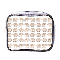 Indian Elephant Mini Toiletries Bags by Valentinaart