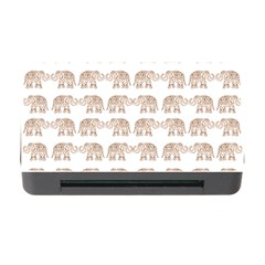 Indian Elephant Memory Card Reader With Cf by Valentinaart