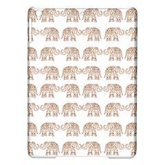 Indian Elephant Ipad Air Hardshell Cases by Valentinaart