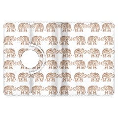 Indian Elephant Kindle Fire Hdx Flip 360 Case by Valentinaart
