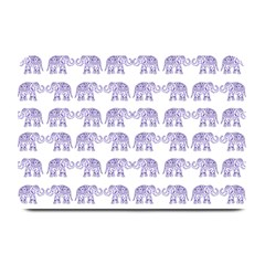 Indian Elephant Pattern Plate Mats by Valentinaart