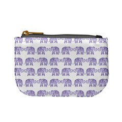 Indian Elephant Pattern Mini Coin Purses by Valentinaart
