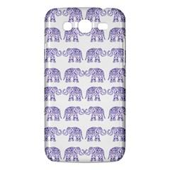 Indian Elephant Pattern Samsung Galaxy Mega 5 8 I9152 Hardshell Case  by Valentinaart