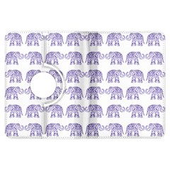 Indian Elephant Pattern Kindle Fire Hdx Flip 360 Case by Valentinaart