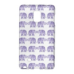 Indian Elephant Pattern Galaxy Note Edge by Valentinaart