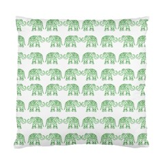 Indian Elephant Pattern Standard Cushion Case (one Side) by Valentinaart