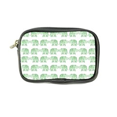 Indian Elephant Pattern Coin Purse by Valentinaart