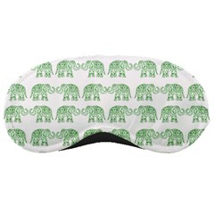 Indian Elephant Pattern Sleeping Masks by Valentinaart
