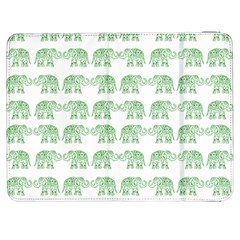 Indian Elephant Pattern Samsung Galaxy Tab 7  P1000 Flip Case by Valentinaart