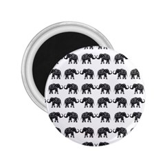 Indian Elephant Pattern 2 25  Magnets by Valentinaart
