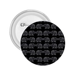 Indian Elephant Pattern 2 25  Buttons by Valentinaart