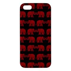Indian Elephant Pattern Iphone 5s/ Se Premium Hardshell Case by Valentinaart