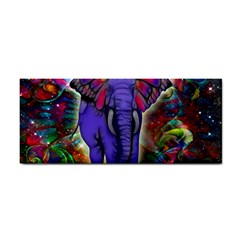 Abstract Elephant With Butterfly Ears Colorful Galaxy Cosmetic Storage Cases by EDDArt