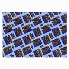 Abstract Pattern Seamless Artwork Large Glasses Cloth (2-Side)