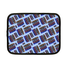 Abstract Pattern Seamless Artwork Netbook Case (small)  by Amaryn4rt