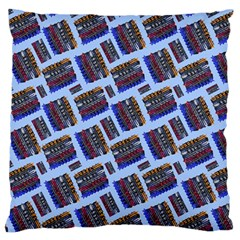 Abstract Pattern Seamless Artwork Standard Flano Cushion Case (two Sides) by Amaryn4rt