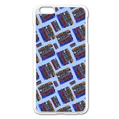 Abstract Pattern Seamless Artwork Apple Iphone 6 Plus/6s Plus Enamel White Case by Amaryn4rt