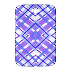 Geometric Plaid Pale Purple Blue Samsung Galaxy Note 8 0 N5100 Hardshell Case  by Amaryn4rt