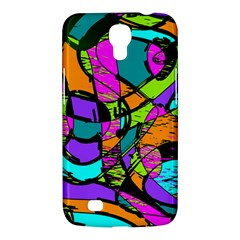 Abstract Art Squiggly Loops Multicolored Samsung Galaxy Mega 6 3  I9200 Hardshell Case by EDDArt