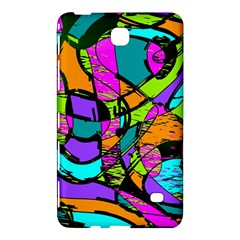 Abstract Art Squiggly Loops Multicolored Samsung Galaxy Tab 4 (8 ) Hardshell Case  by EDDArt