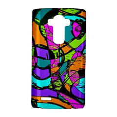 Abstract Art Squiggly Loops Multicolored Lg G4 Hardshell Case by EDDArt