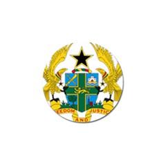 National Seal Of Ghana Golf Ball Marker (10 Pack) by abbeyz71