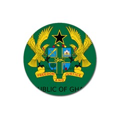 National Seal Of Ghana Magnet 3  (round) by abbeyz71