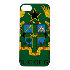 National Seal Of Ghana Apple Iphone 5s/ Se Hardshell Case by abbeyz71