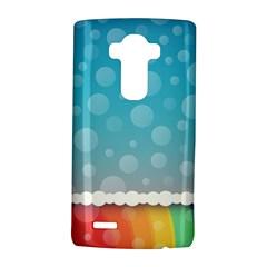 Rainbow Background Border Colorful Lg G4 Hardshell Case by Amaryn4rt